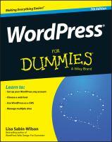 WordPress® For Dummies®