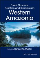Forest Structure, Function, and Dynamics in Western Amazonia