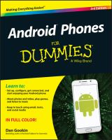 Android™ Phones for Dummies®