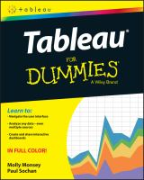 Tableau for Dummies