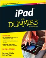 IPad® for Dummies®