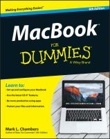 MacBook® for Dummies®