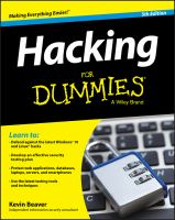 Hacking for Dummies®