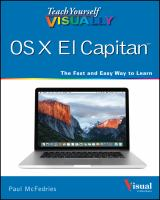 Teach Yourself Visually OS X EI Capitan