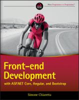 FRONT-END DEVELOPMENT WITH ASP. NET MVC 6, ANGULARJS, AND BOOTSTRAP