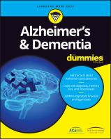 Alzheimer's & Dementia for Dummies