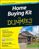 Home Buying Kit for Dummies®
