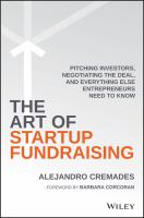 The Art of Startup Fundraising