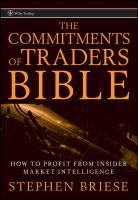 The Commitments of Traders Bible