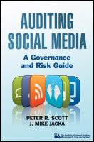 Auditing Social Media