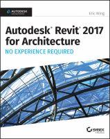 Autodesk Revit 2017 for Architecture