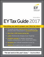 The EY Tax Guide 2017