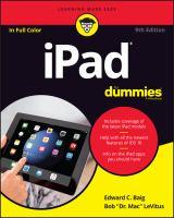IPad for Dummies(2017 Edition)