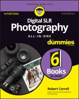 Digital SLR Photography All-in-one