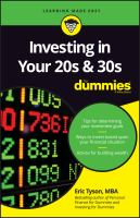Investing in your 20s and 30s for Dummies