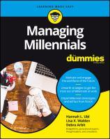 Managing Millennials