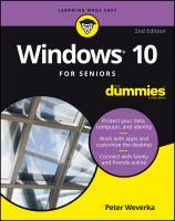 Windows 10 for Seniors for Dummies