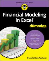 Financial Modeling in Excel