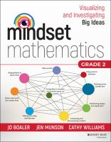 Mindset Mathematics: Visualizing and Investigating Big Ideas, Grade 2
