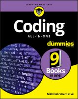Coding All-in-one for Dummies®
