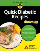 Quick Diabetic Recipes