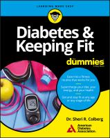 Diabetes & Keeping Fit for Dummies