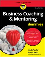 Business Coaching & Mentoring for Dummies