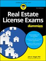 Real Estate License Exams
