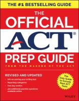 The Official ACT Prep Guide, [2017]