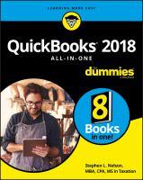 QuickBooks 2018 All-in-one