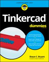 Tinkercad™ for Dummies®
