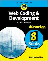 Web Coding and Development All-In-One for Dummies