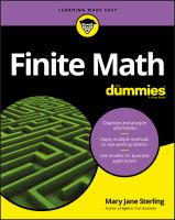Finite Math