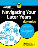 Navigating your Later Years