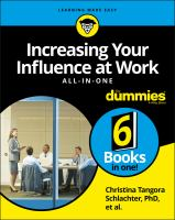 Increasing your Influence at Work