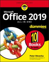 Office 2019 All-in-one
