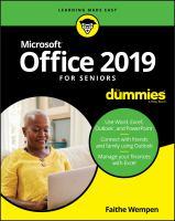 Office 2019 for Seniors for Dummies