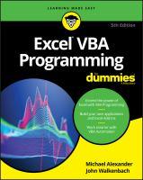 Excel VBA Programming