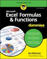 Excel Formulas & Functions