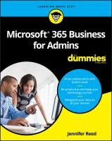 Microsoft 365 Business for Admins