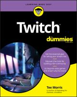 Twitch for Dummies