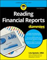 Reading Financial Reports