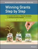 Winning Grants Step by Step