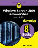 Windows Server 2019 & PowerShell All-in-one