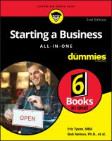 Starting A Business All-in-one