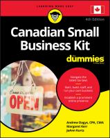 Canadian Small Business Kit