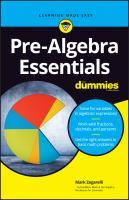 Pre-algebra Essentials