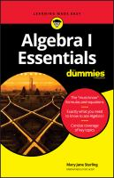 Algebra I Essentials