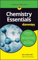 Chemistry Essentials For Dummies *
