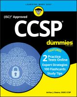 CCSP With Online Practice for Dummies